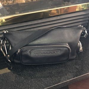 Burberry Leather Baguette